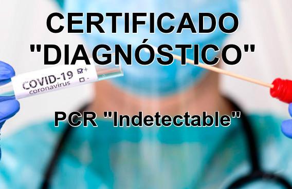 CERTIFICADO PCR